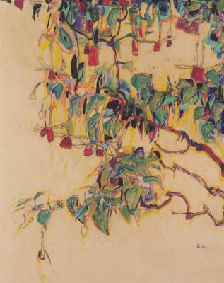 Эгон Шиле. Цветы