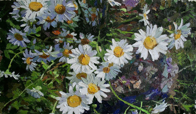 Michael Mine. Flowers No. 22. Chamomile