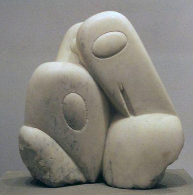 Константин Бранкузи. Три Пингвина.