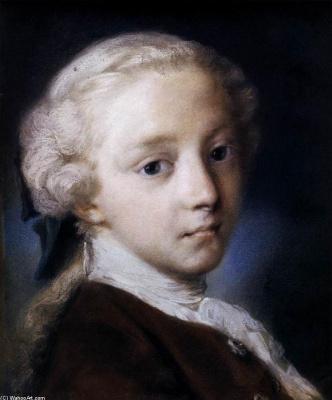 Розальба Каррьера (Каррера). Портрет мальчика