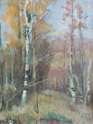 Дмитрий Аркадьевич Лаптев. В осеннем лесу