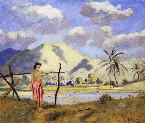 Луис Эйльшмеус. Самоа