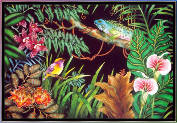 Джуди Вайс. Джуди Вайс. Тропический лес для детей 03