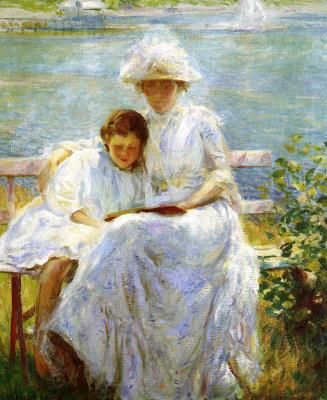 Джозеф Декамп. Мать с ребенком