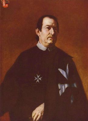 Карел Шкрета. Мальтийский приор Бернард де Витте
