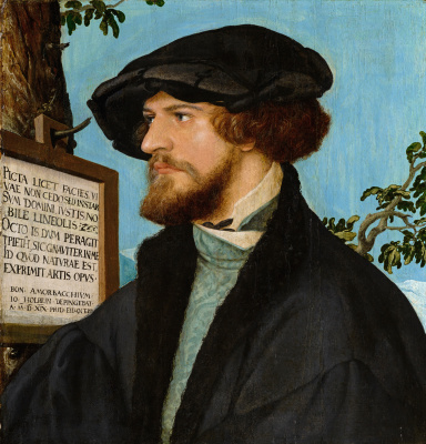 Hans Holbein The Younger. Portrait of Boniface Amerbach