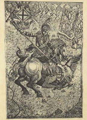 Онофре Вакер. Святой Георгий