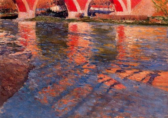 Аурелиано Де Берует. Мост через реку