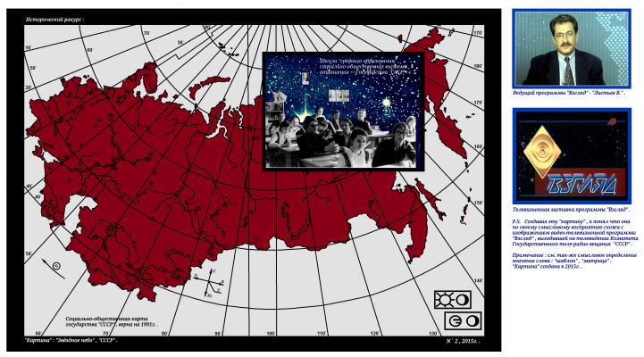 "Arthur Gabdrupes. ""Picture"" : ""Starry sky"" , ""USSR"" , 1991. . PS ""Archive"" ."