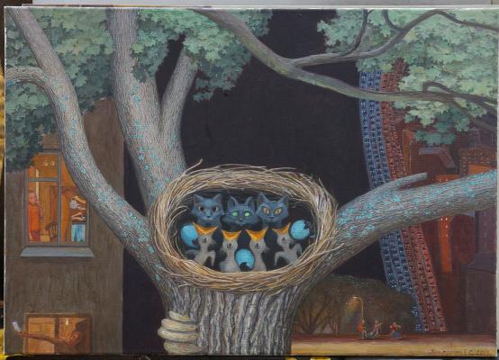 Victor Sidorovich Kraposhin. Nest