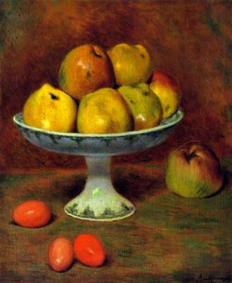 Федерико Дзандоменеги. Яблоки и красные яйца