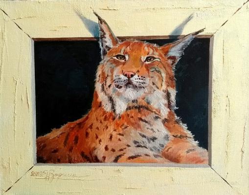Elena Nikolaevna Zorina. Forest kitty