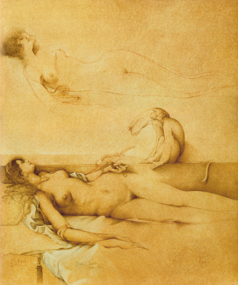 Michael Parkes. The Death Of Cleopatra