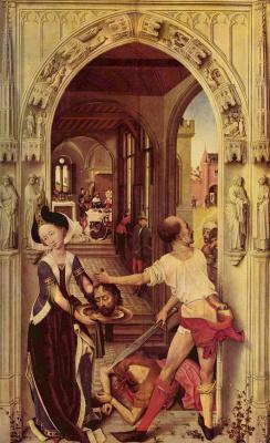 Рогир ван дер Вейден. Смерть св. Иоанна Крестителя