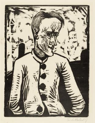 Erich Heckel. Fool