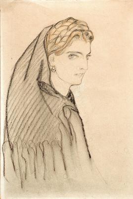 Елена Андреевна Киселева. Черногорка. 1920-е
