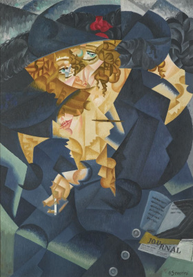 Gino Severini. Abstract rhythm of Mrs. M. S.