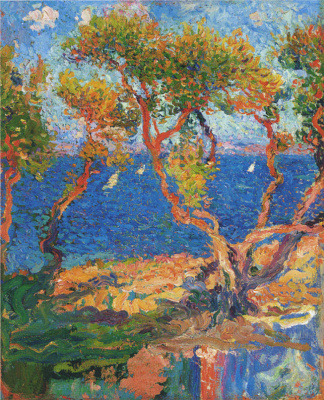 Анри Мартен. Оливковые деревья