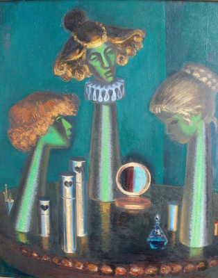 Anatoly Alekseevich Bolkhontsev. Theatrical still life