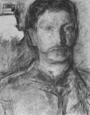 Mikhail Vrubel. Self-portrait