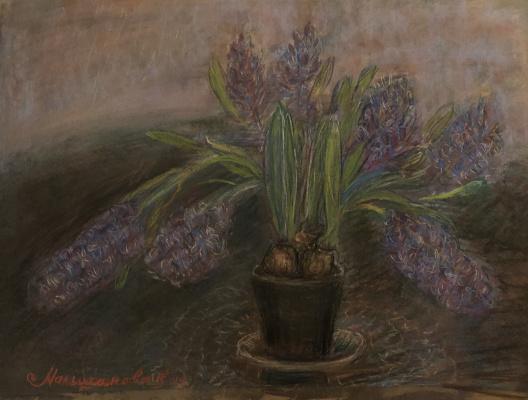 Victoria Malshakova. The smell of hyacinths