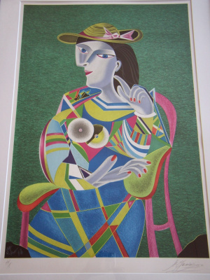 """Michael Shemyakin. """"Transformation of Picasso"""""""