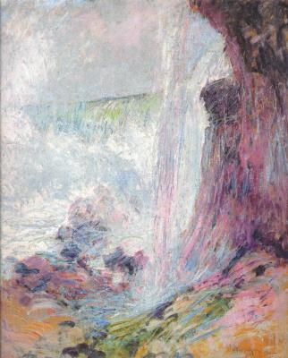 John Henry Twachtman. Niagara Falls