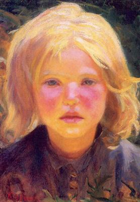 Вилли Бетти Ньюман. Портрет ребенка