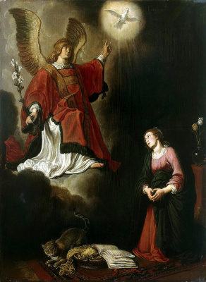 Peter Peters Lastman. The Annunciation