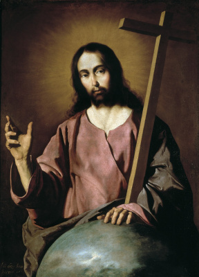 Francisco de Zurbaran. The Blessing Of Christ