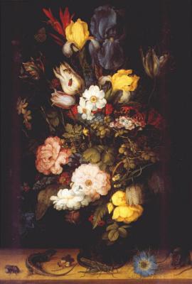 Рулант Саверей. Букет цветов