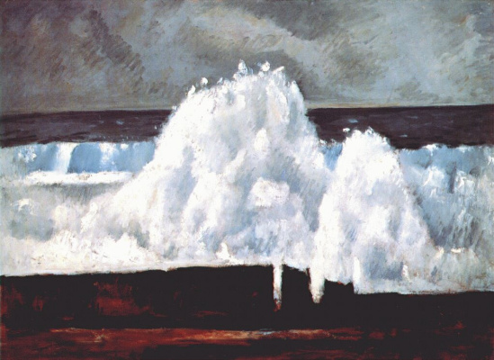 Marsden Hartley. Wave