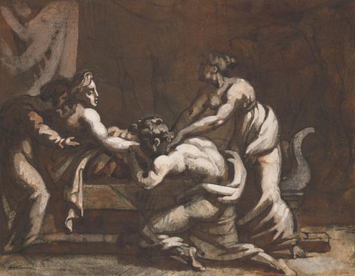 Théodore Géricault. Antique scene