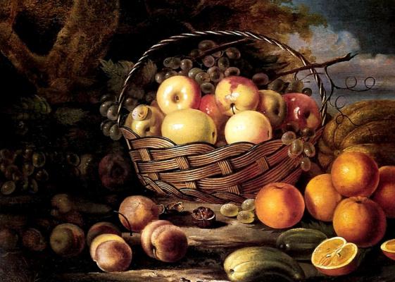 Ivan Fomich (Trofimovich) Khrutsky. Fruit and melon