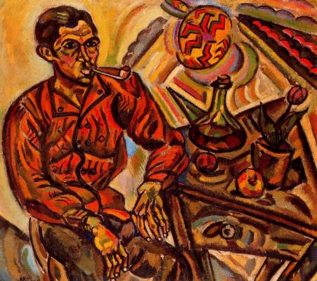 Joan Miro. Portrait Of Vincent Nubiola