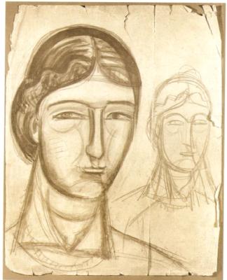 Михаил Львович Бойчук. Женский портрет.