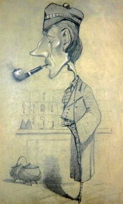 Шотландец с трубкой