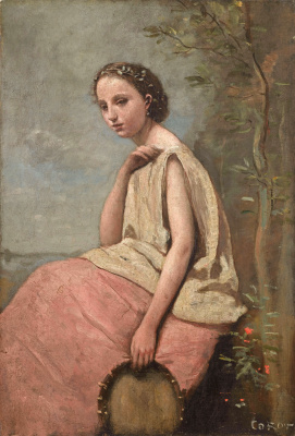 Camille Corot. Gypsy