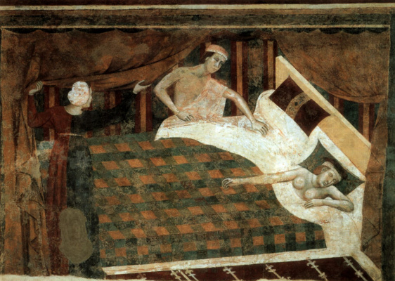 Меммо ди Филиппо. Спальня