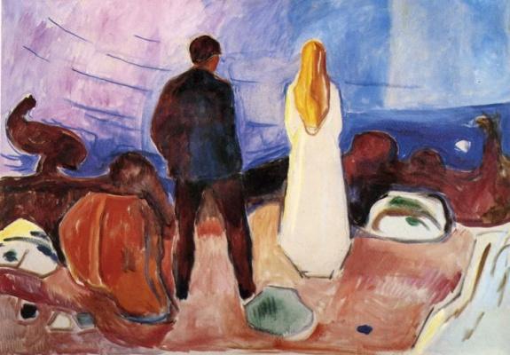 Edvard Munch. Lonely