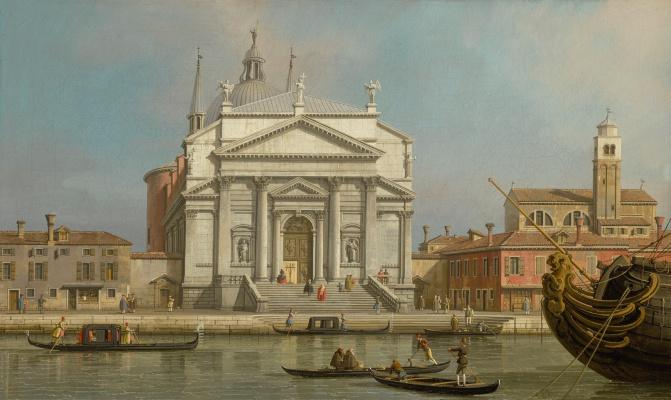 Джованни Антонио Каналь (Каналетто). Венеция. Церкви Иль Реденторе и святого Иакова
