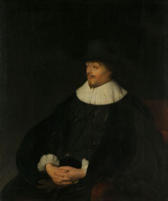 Jan Lievens. Portrait Of Constantine Huygens