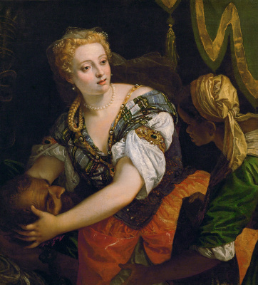 Paolo Veronese. Judith with the head of Holofernes