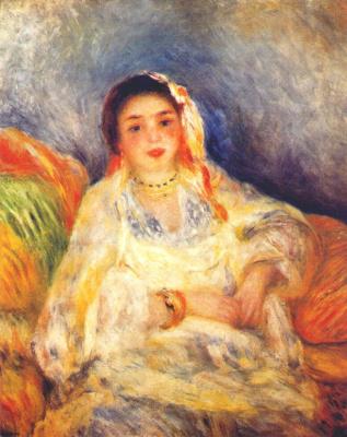Pierre Auguste Renoir. Seated Algerian women