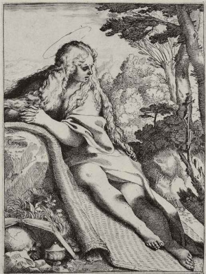 Annibale Carracci. Penitent Mary Magdalene