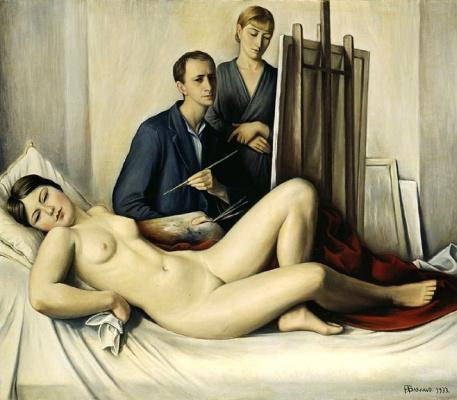 Франсуа-Эмиль Барро. Совещание по живописи
