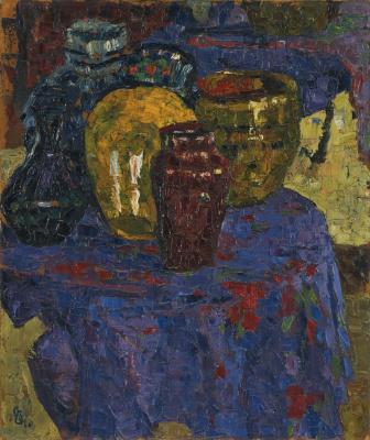 Giovanni Giacometti. Vases