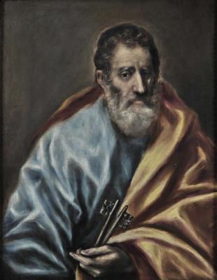 Domenico Theotokopoulos (El Greco). St. Peter