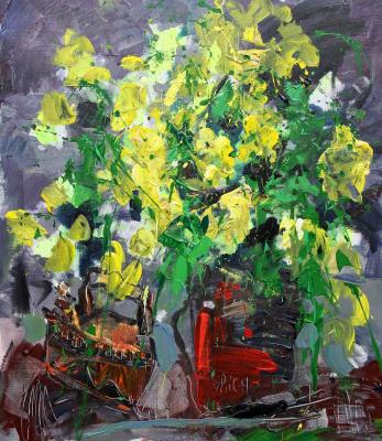 Ilya Pavlovich Spichenkov. Yellow bouquet