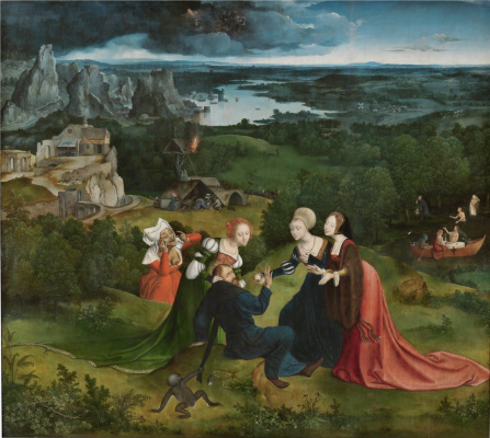 Joachim Patinir. The Temptation Of St. Anthony